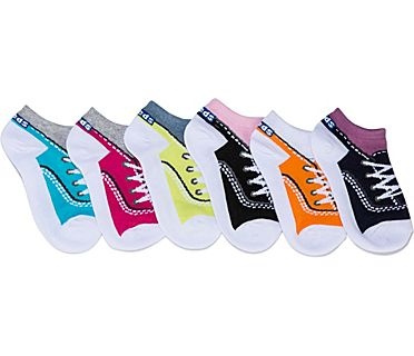 Kids Ankle Socks., Beet Purple Asst, dynamic