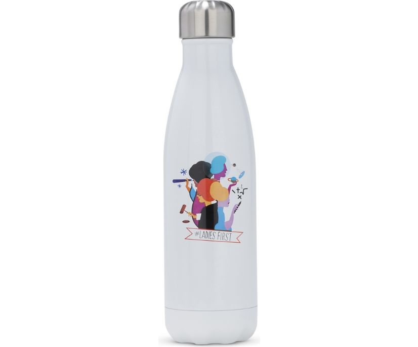 S'Well® Ladies First Water Bottle, White Multi, dynamic