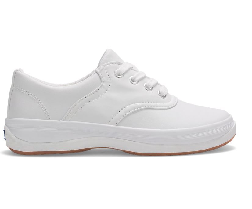 School Days Sneaker., White, dynamic