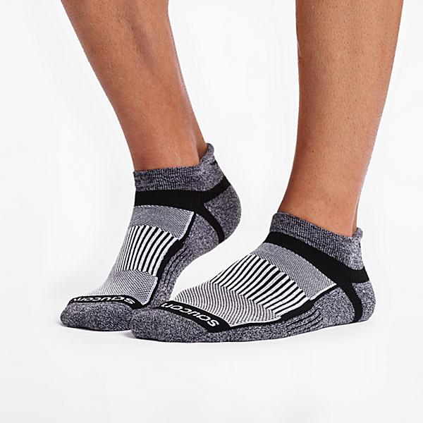 Inferno No Show Tab 3-Pack Socks, Black | White | Marl, dynamic