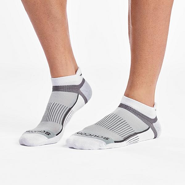 Inferno No Show Tab 3-Pack Socks, White, dynamic