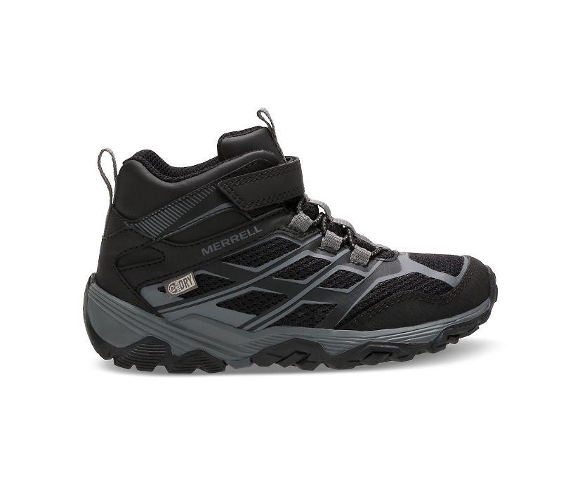 Moab FST Mid A/C Waterproof Boot, Black, dynamic
