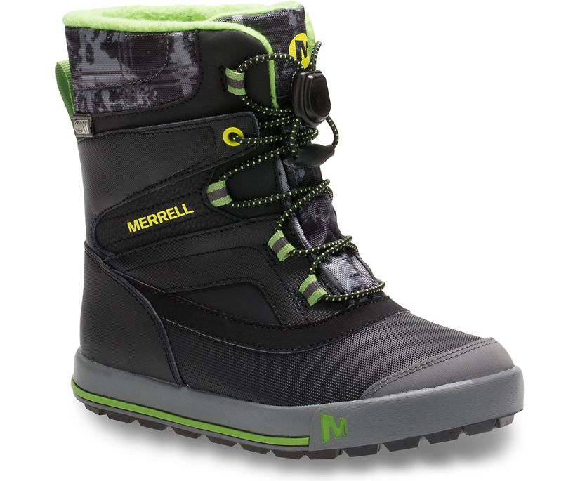 Snow Bank 2.0 Boot, Black / Grey / Green, dynamic