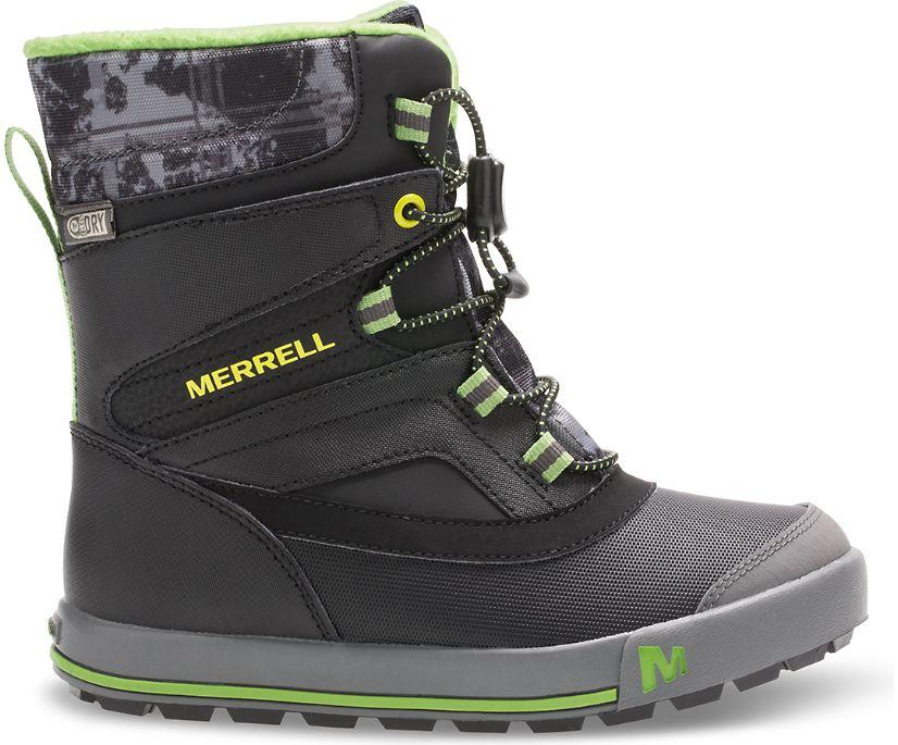 Snow Bank 2.0 Boot, Black / Grey / Green, dynamic
