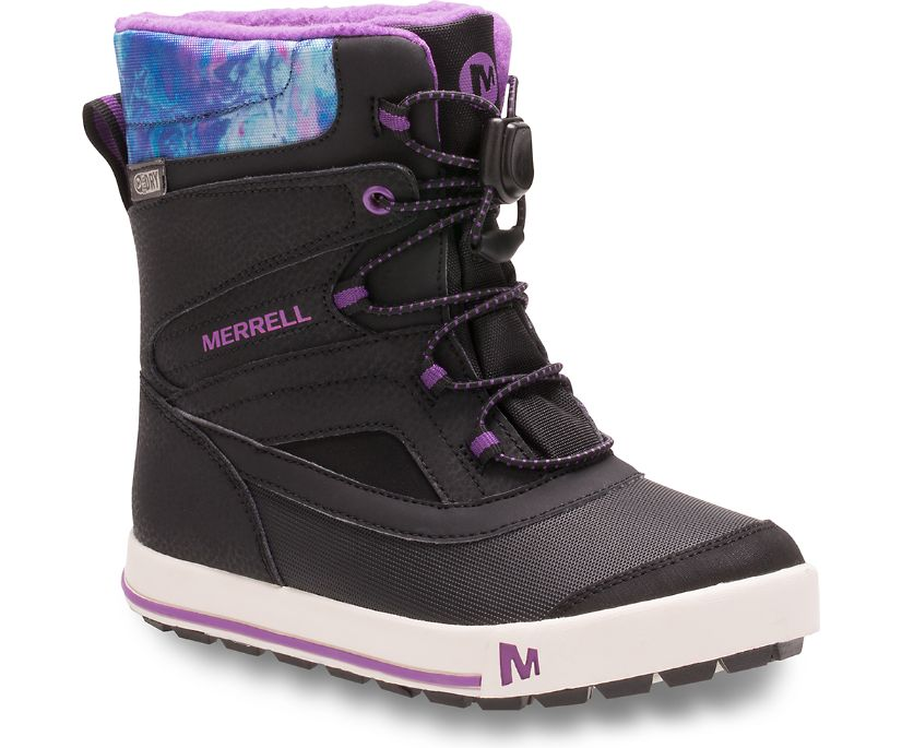 Snow Bank 2.0 Boot, Black / Print / Berry, dynamic