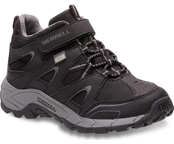 Light Tech Leather Quick Close Waterproof, Black, dynamic