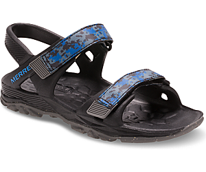 Hydro Drift Sandal, Black / Navy, dynamic