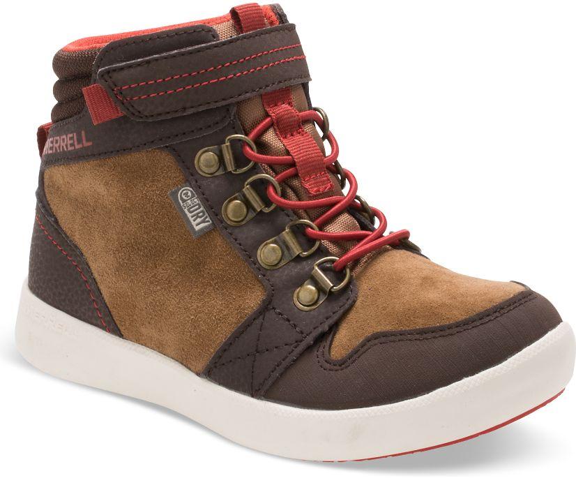 Freewheel Mid Boot, Brown, dynamic