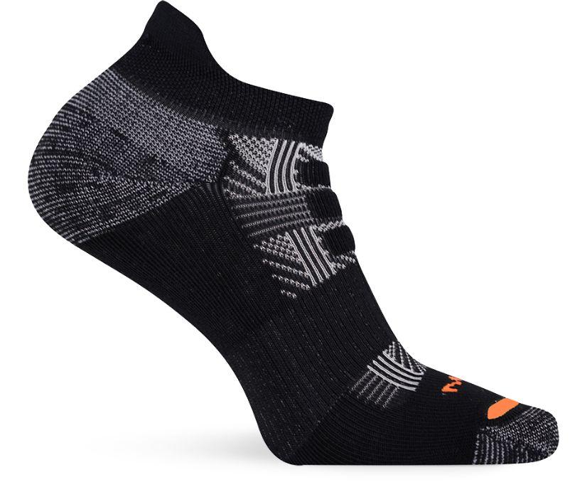Cushion Connection Low Cut Tab Sock, Black, dynamic