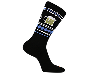 Moc-Toberfest Crew Sock, Black, dynamic