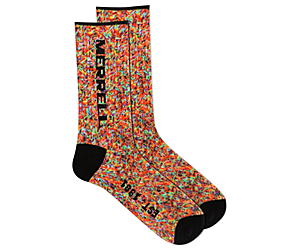 Printed Birthday Crew Sock, Multi, dynamic