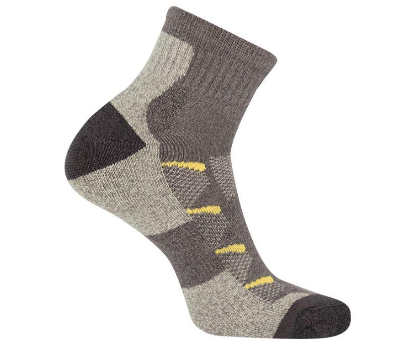 Moab Anniversary Hiker Quarter Tab Sock, Brown, dynamic