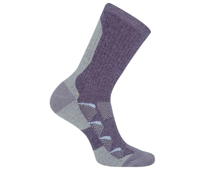 Moab Anniversary Hiker Crew Tab Sock, Blue, dynamic