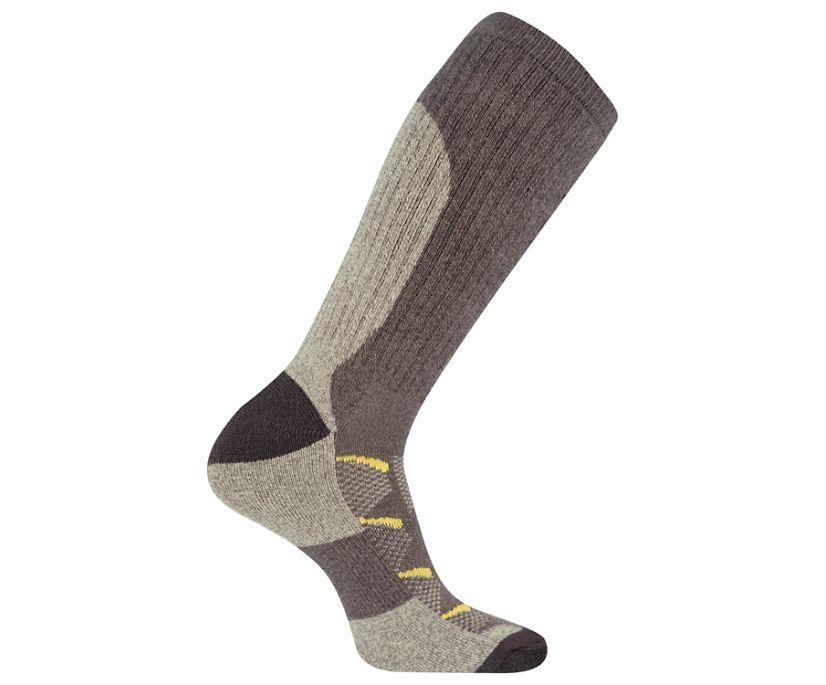 Moab Anniversary Hiker Crew Tab Sock, Brown, dynamic