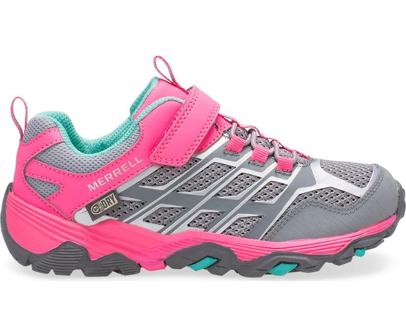 Moab FST Low A/C Waterproof Sneaker, Grey/Coral, dynamic