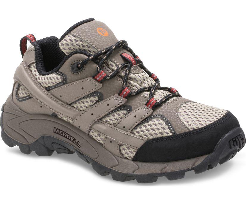 Moab 2 Low Lace Shoe, Bark Brown, dynamic