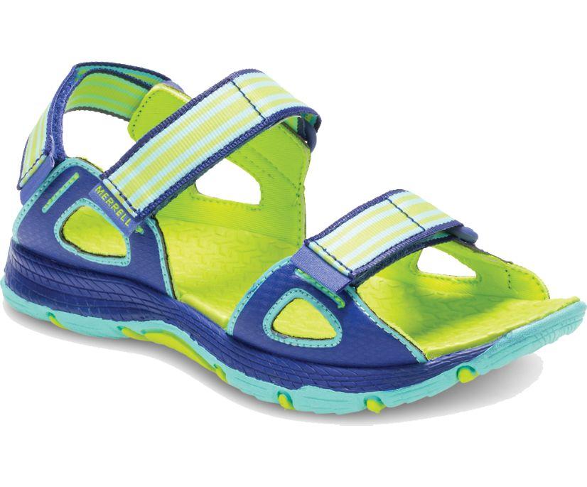 Hydro Blaze Sandal, Turq/Blue, dynamic