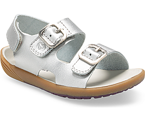 Bare Steps® Sandal, Silver, dynamic