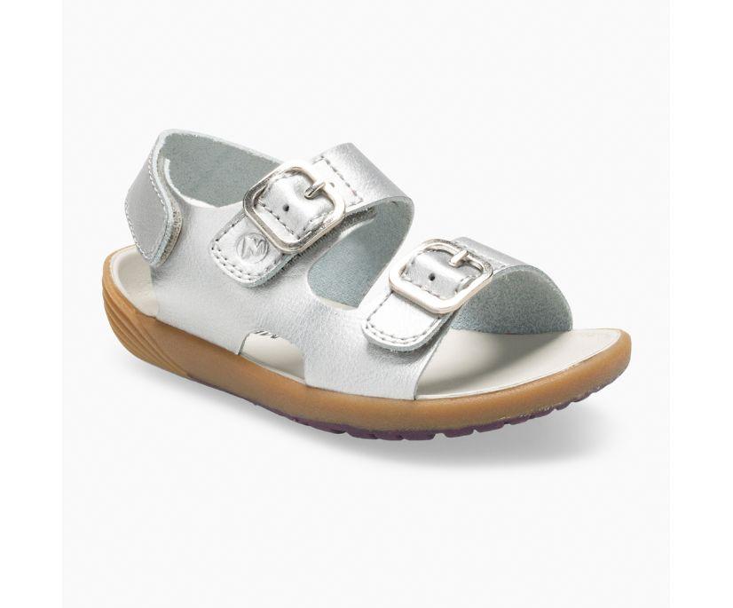 Bare Steps® Sandal, Silver, dynamic