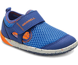 Bare Steps® H2O Sneaker, Blue/Orange, dynamic