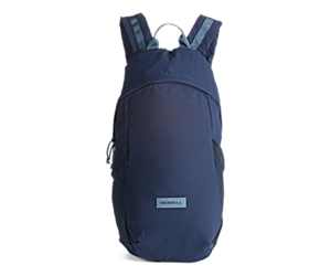 Wayfinder Packable Backpack, Navy, dynamic