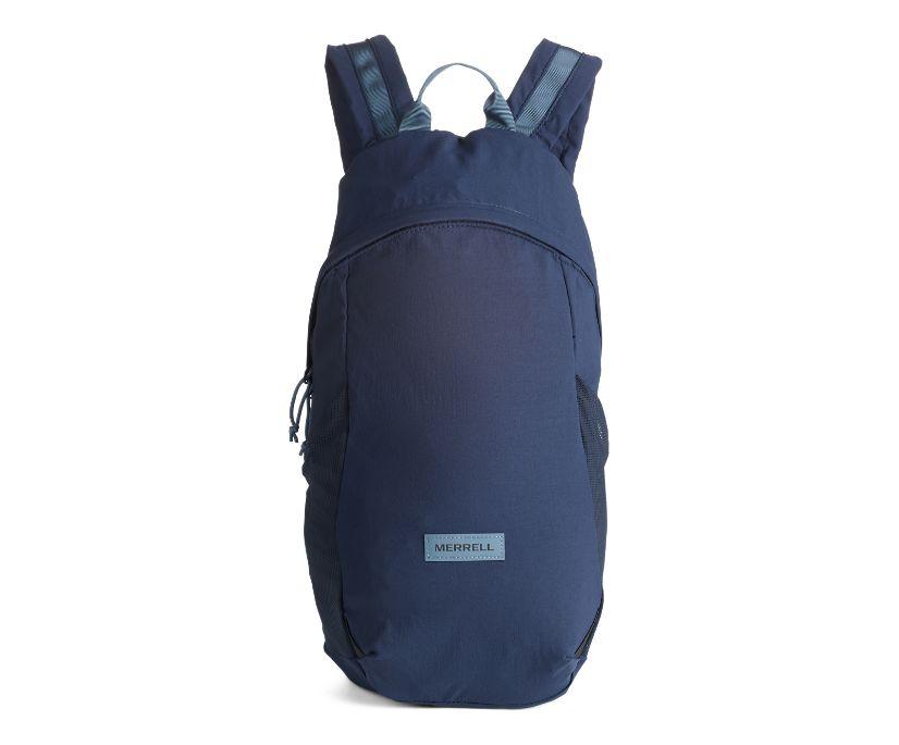 Wayfinder Packable Backpack, Navy, dynamic