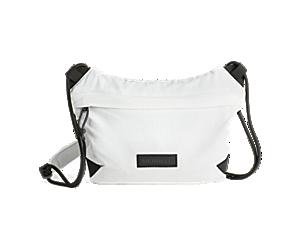 Wayfinder Packable Sacoche Bag, White, dynamic