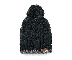 Trailhead Pom Beanie, Black, dynamic