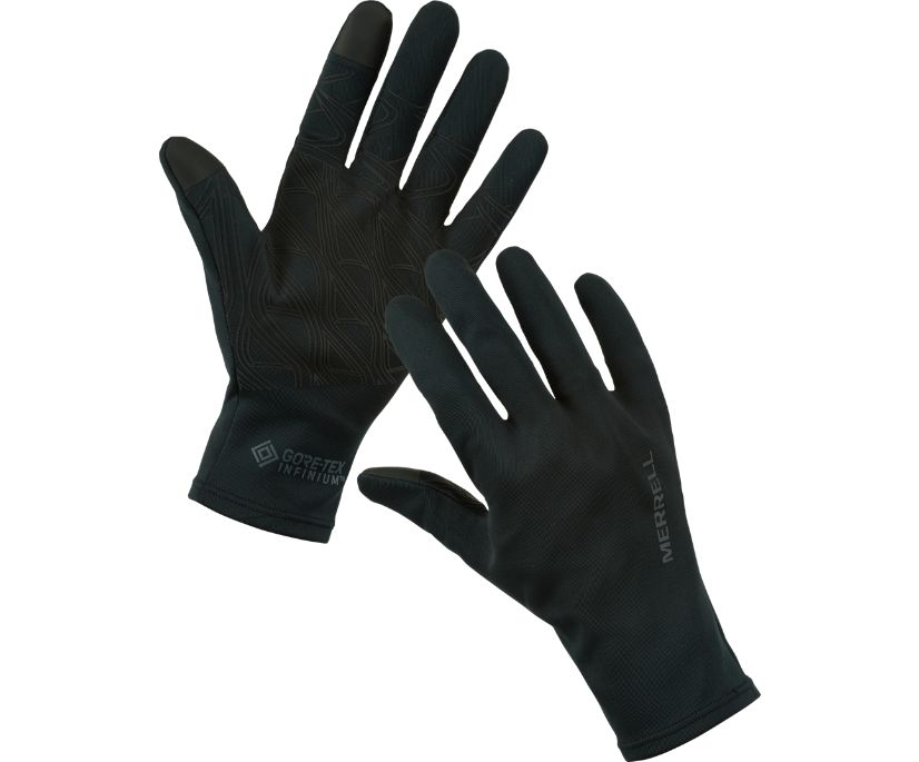 GORE-TEX® Powerstretch Glove, Black, dynamic