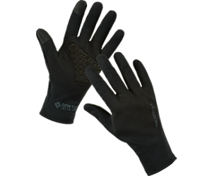 GORE-TEX® Softshell Fleece Lined Glove, Black, dynamic