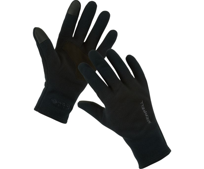 GORE-TEX® Fleece Lined Glove, Black, dynamic