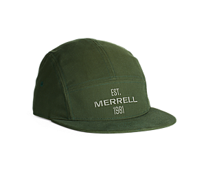 Cotton Canvas 5 Panel Hat, Forest, dynamic
