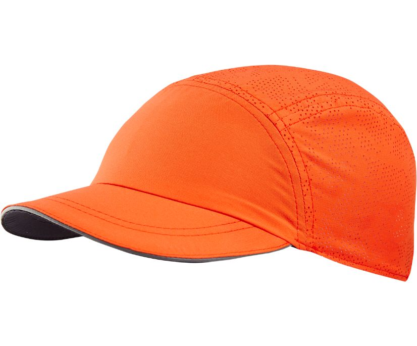 Connect Hat, Mandarin Red, dynamic