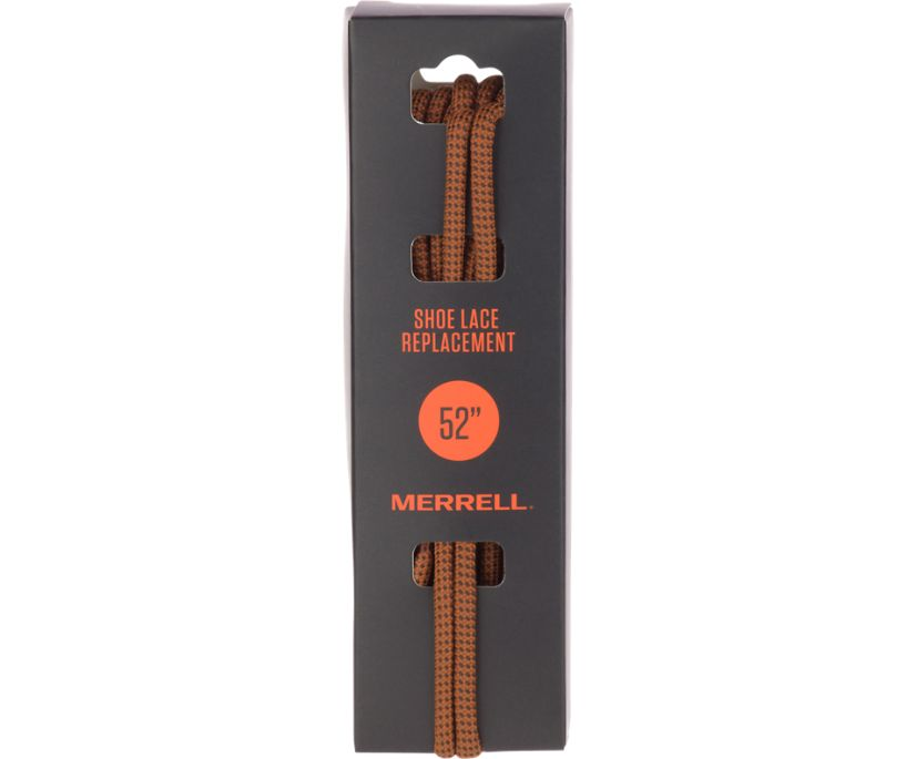 Round Shoe Laces, Brown, dynamic