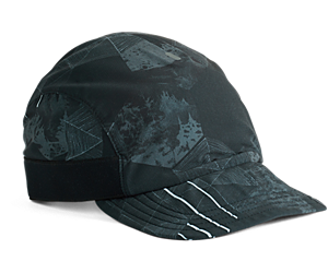 Ultralite 3 Panel Cap, Black Print, dynamic