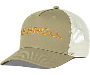 Trailhead Embroidery Woodmark Trucker Hat, Chinchilla, dynamic