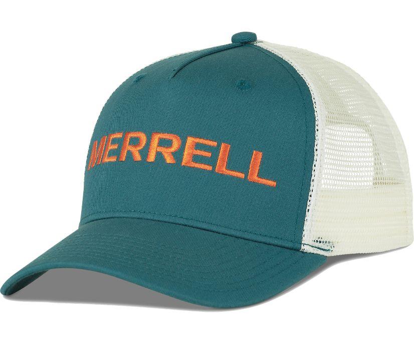Trailhead Embroidery Woodmark Trucker Hat, Dragonfly, dynamic