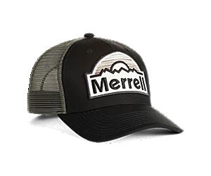 Merrell Patch Trucker Hat, Black/Asphalt, dynamic