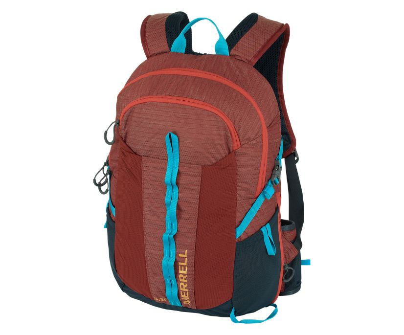 Crest 22L Day Pack, Brick, dynamic