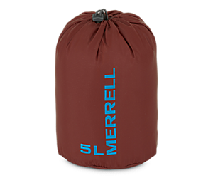 Crest 5L Stuff Sack, Brick, dynamic