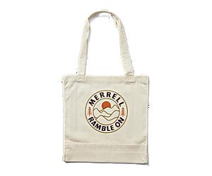 Trailhead Canvas Tote Bag, Natural Logo 1, dynamic