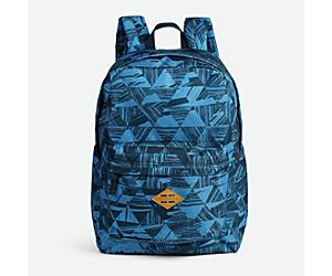 Terrain Backpack 20L, Navy Dash Print, dynamic