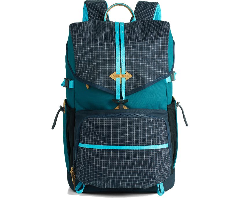 Trailhead 35L Top Load Backpack, Dragonfly/Navy, dynamic