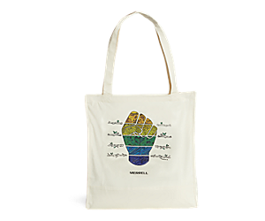 Outdoors For All Tote, Fist Graphic, dynamic