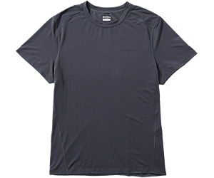 Tencel® Short Sleeve Tee with drirelease® Fabric, Asphalt, dynamic