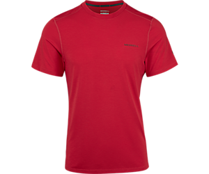 Tencel® Short Sleeve Tee with drirelease® Fabric, Barbados Cherry, dynamic