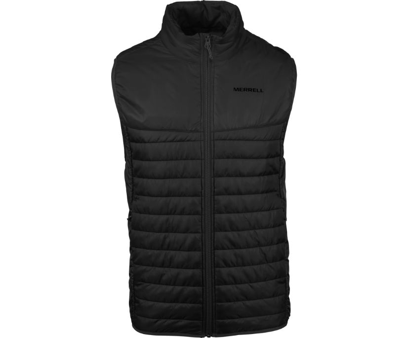 Entrada Insulated Vest, Black/Asphalt, dynamic
