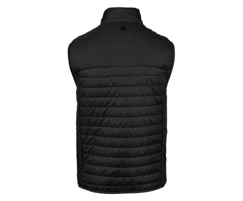 Entrada Insulated Vest, Black/Asphalt, dynamic