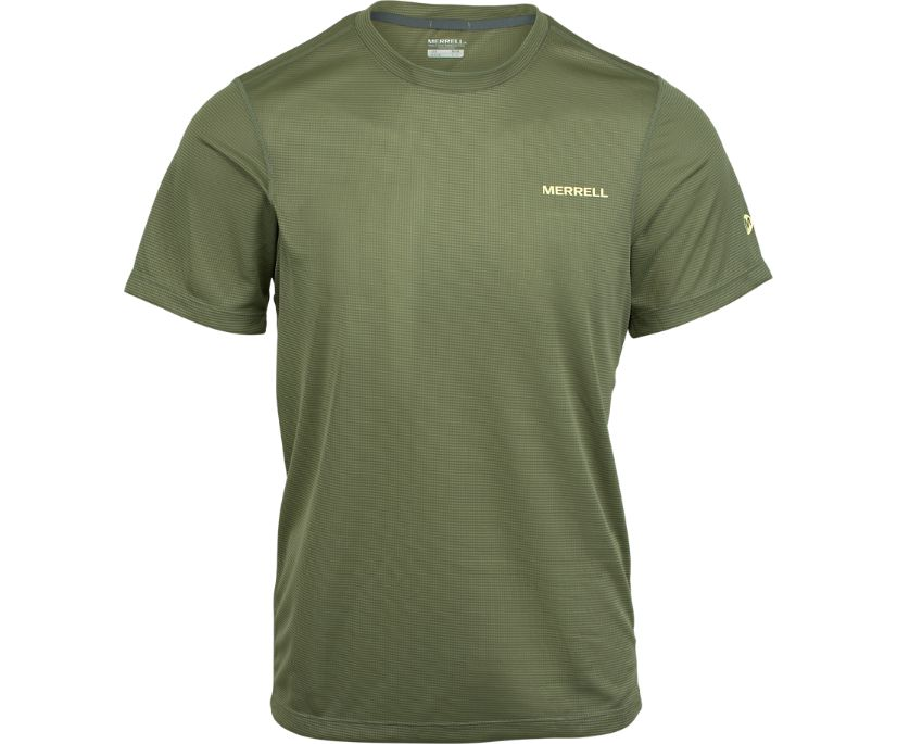 Entrada II Short Sleeve Wicking Tech Tee, Beetle, dynamic