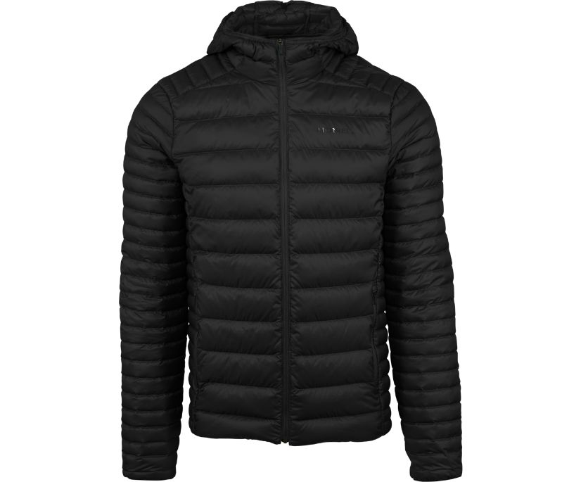 Ridgevent Thermo Hoody, Black, dynamic